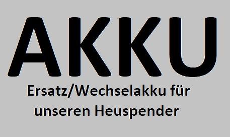 Zusatzakku / Ersatzakku